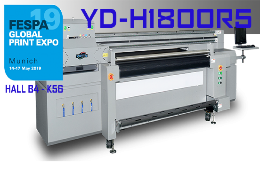 How to Cook a perfect Hybrid UV Printer - YD-H1800R5