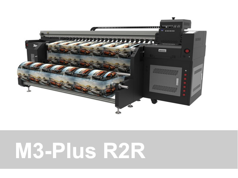 M3 Plus - 2.2m R2R UV Printer
