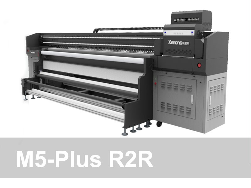 M5 Plus - 3.2m R2R UV Printer